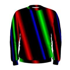 Multi Color Neon Background Men s Sweatshirt