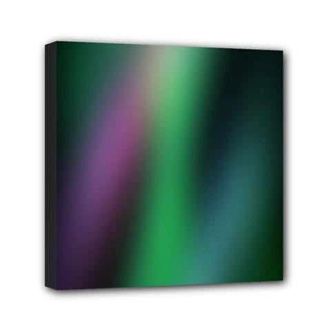 Course Gradient Color Pattern Mini Canvas 6  X 6
