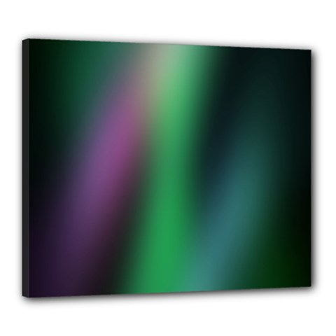 Course Gradient Color Pattern Canvas 24  x 20