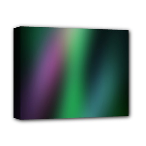 Course Gradient Color Pattern Deluxe Canvas 14  X 11