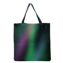 Course Gradient Color Pattern Grocery Tote Bag