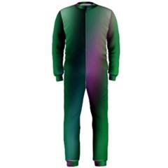 Course Gradient Color Pattern OnePiece Jumpsuit (Men)