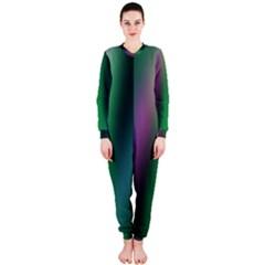Course Gradient Color Pattern OnePiece Jumpsuit (Ladies)