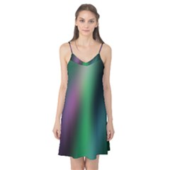 Course Gradient Color Pattern Camis Nightgown