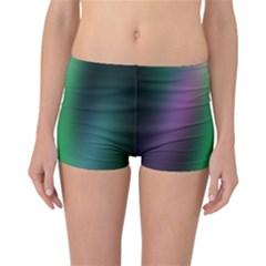 Course Gradient Color Pattern Reversible Bikini Bottoms