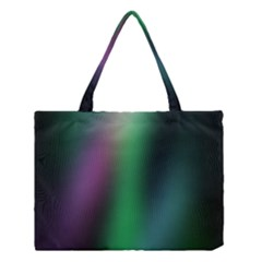 Course Gradient Color Pattern Medium Tote Bag