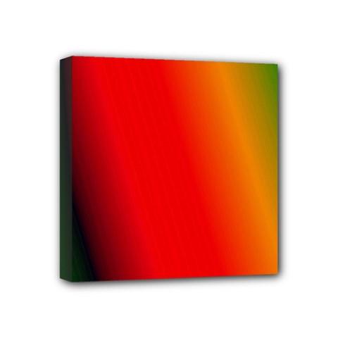 Multi Color Pattern Background Mini Canvas 4  x 4