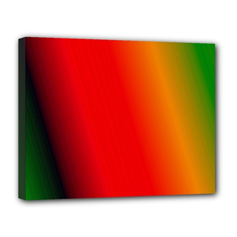 Multi Color Pattern Background Canvas 14  X 11