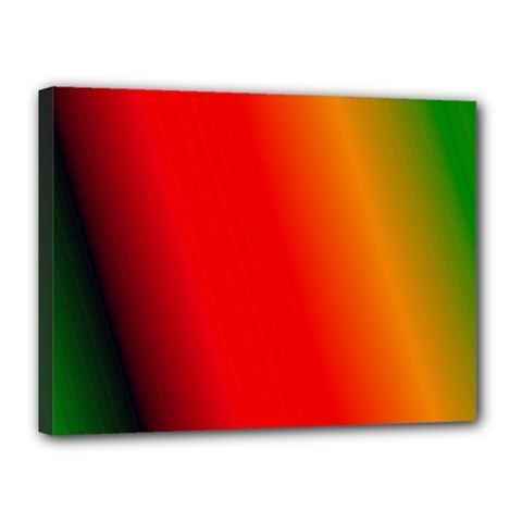 Multi Color Pattern Background Canvas 16  x 12