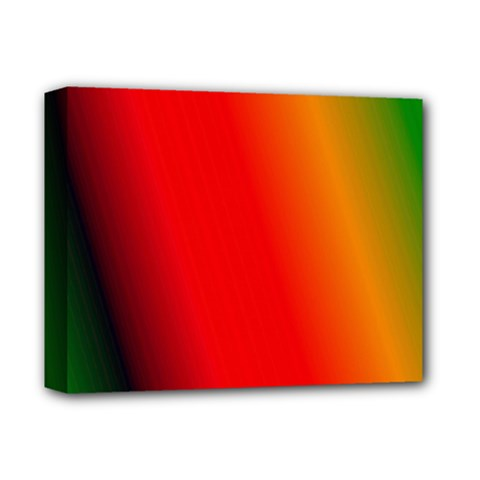 Multi Color Pattern Background Deluxe Canvas 14  x 11