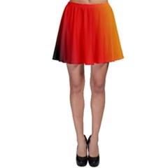 Multi Color Pattern Background Skater Skirt
