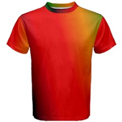 Multi Color Pattern Background Men s Cotton Tee