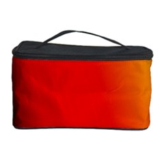 Multi Color Pattern Background Cosmetic Storage Case