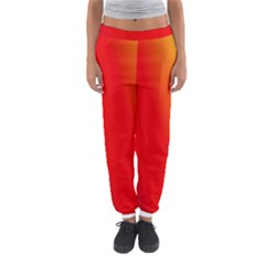Multi Color Pattern Background Women s Jogger Sweatpants
