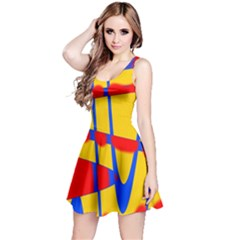 Graphic Design Graphic Design Reversible Sleeveless Dress