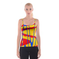 Graphic Design Graphic Design Spaghetti Strap Top