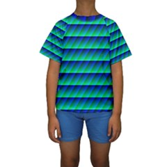 Background Texture Structure Color Kids  Short Sleeve Swimwear