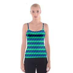 Background Texture Structure Color Spaghetti Strap Top