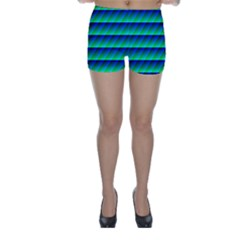 Background Texture Structure Color Skinny Shorts