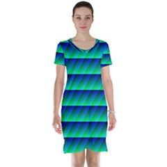 Background Texture Structure Color Short Sleeve Nightdress