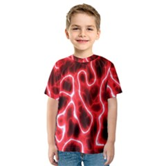 Pattern Background Abstract Kids  Sport Mesh Tee