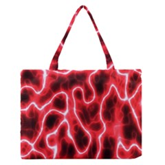 Pattern Background Abstract Medium Zipper Tote Bag