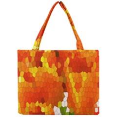 Mosaic Glass Colorful Color Mini Tote Bag