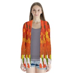 Mosaic Glass Colorful Color Cardigans