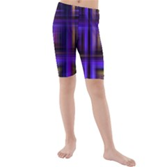 Background Texture Pattern Color Kids  Mid Length Swim Shorts