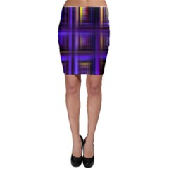 Background Texture Pattern Color Bodycon Skirt