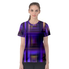 Background Texture Pattern Color Women s Sport Mesh Tee