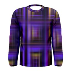 Background Texture Pattern Color Men s Long Sleeve Tee