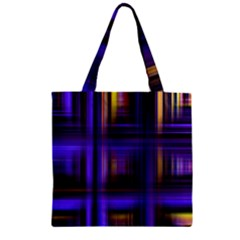 Background Texture Pattern Color Zipper Grocery Tote Bag