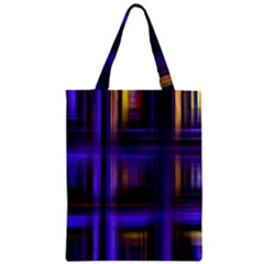 Background Texture Pattern Color Zipper Classic Tote Bag