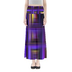 Background Texture Pattern Color Maxi Skirts