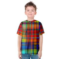 Abstract Color Background Form Kids  Cotton Tee