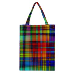Abstract Color Background Form Classic Tote Bag
