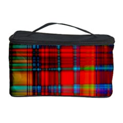 Abstract Color Background Form Cosmetic Storage Case