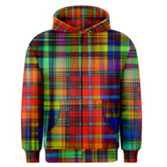 Abstract Color Background Form Men s Zipper Hoodie