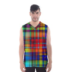 Abstract Color Background Form Men s Basketball Tank Top