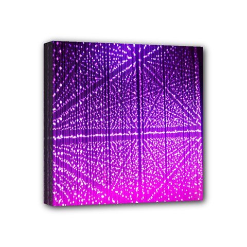 Pattern Light Color Structure Mini Canvas 4  X 4