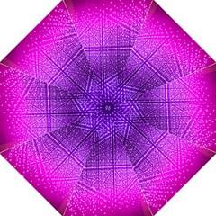 Pattern Light Color Structure Folding Umbrellas