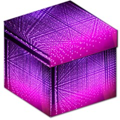 Pattern Light Color Structure Storage Stool 12