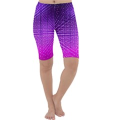 Pattern Light Color Structure Cropped Leggings