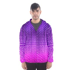 Pattern Light Color Structure Hooded Wind Breaker (Men)