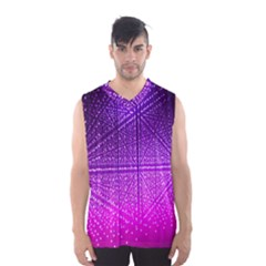 Pattern Light Color Structure Men s Basketball Tank Top
