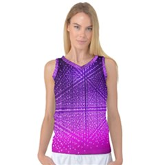 Pattern Light Color Structure Women s Basketball Tank Top