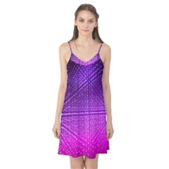 Pattern Light Color Structure Camis Nightgown