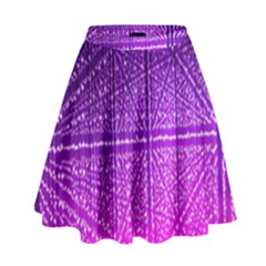 Pattern Light Color Structure High Waist Skirt
