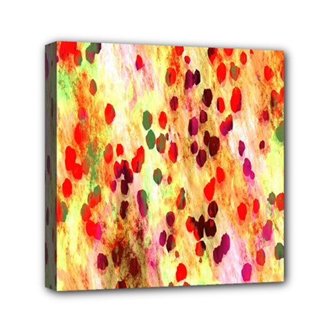 Background Color Pattern Abstract Mini Canvas 6  x 6